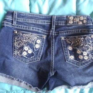 Miss Me size 29 jean shorts